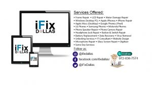 ifix dallas services offered in Plano dallas mckinney allen richardson