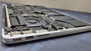 macbook pro A1398 2015 repair in ifixdallas certified geek plano