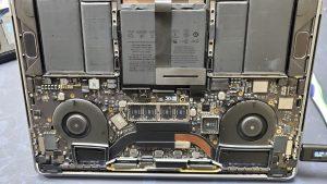 Liquid damage treatment macbook pro a2251 2020 ifixdallas certified geek plano