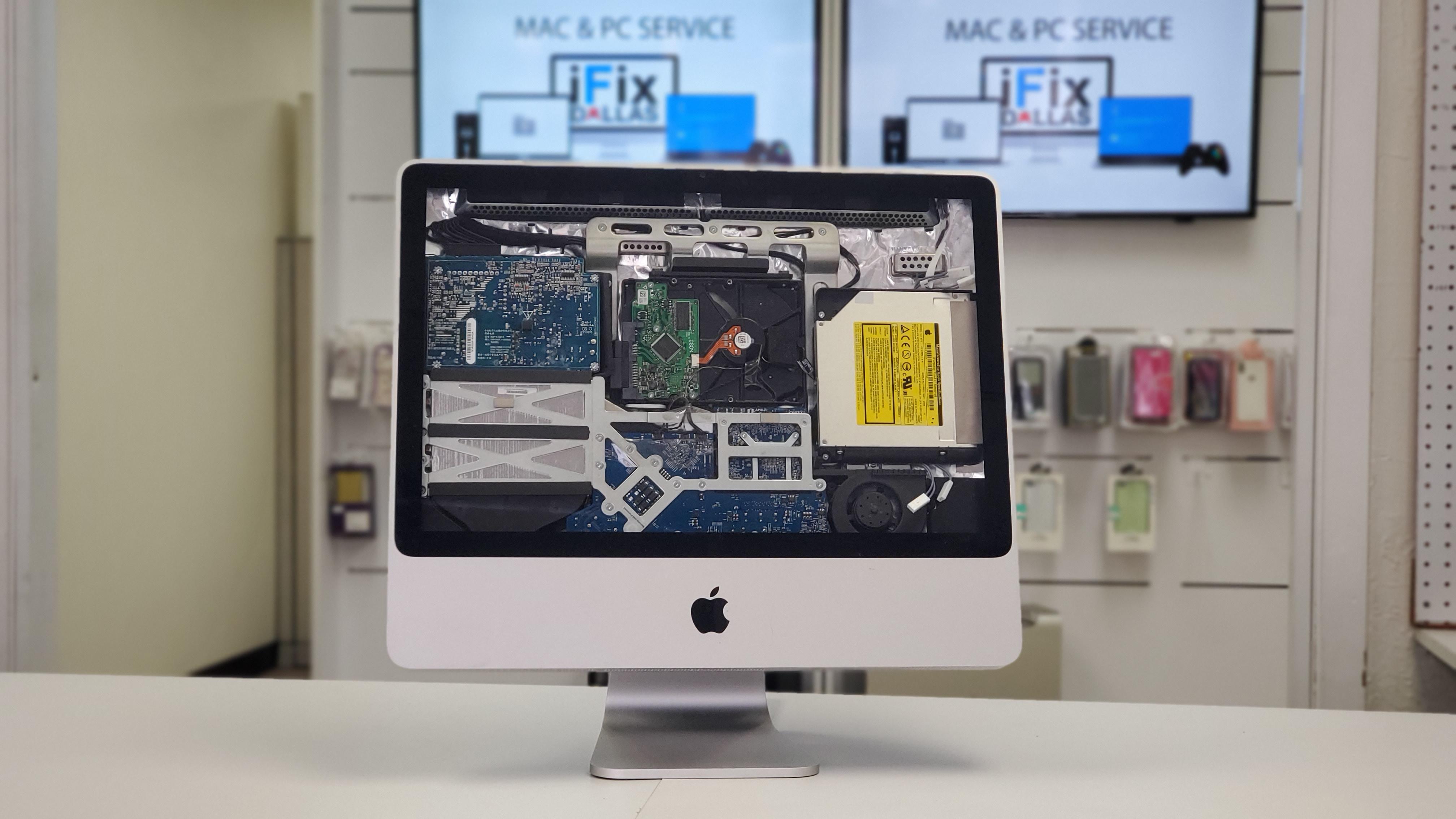 iMac repair service at ifixdallas plano