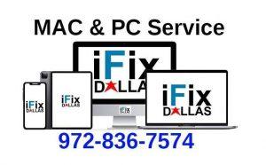 ifixdallas mac service and pc service Plano 9728367574