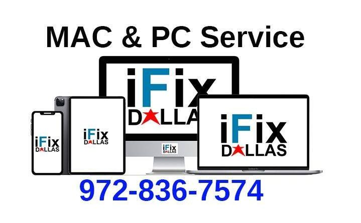 ifixdallas mac and pc service 9728367574