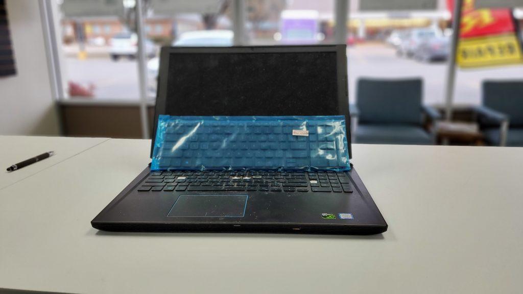 Gaming Laptop Keyboard replacement at ifix iphone repair dallas plano