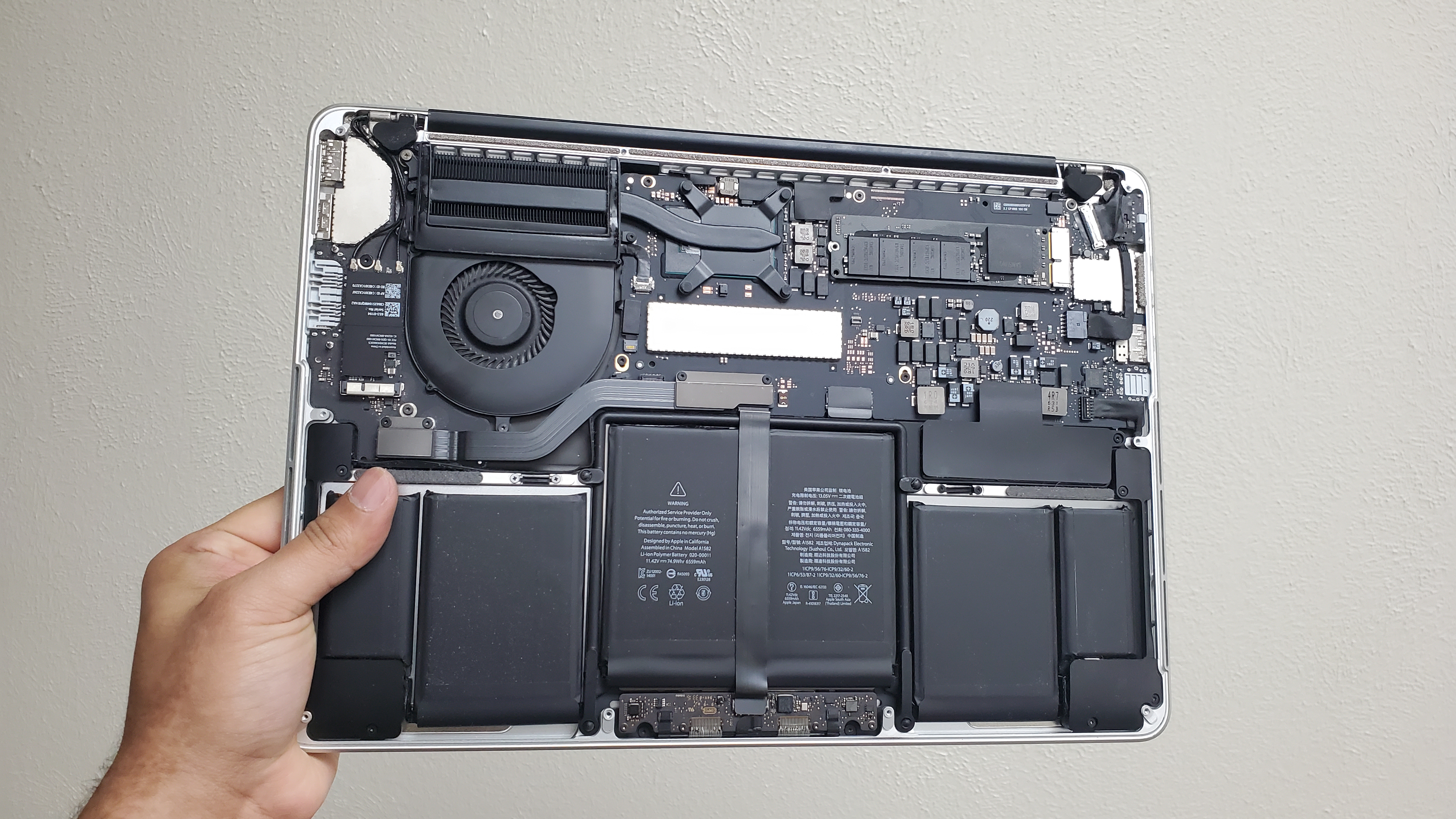 MacBook Pro A1502 not turning on fix at ifixdallas plano